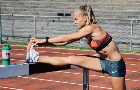 Spændende samarbejde med topatleten Stina Troest