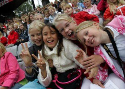 Verdens største børnekor