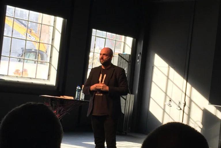 på foredragsturné i Oslo i Norge - temaet er innovation og disruption